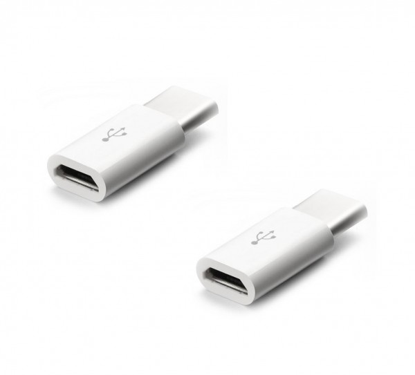 2x USB-C auf Micro USB Adapter USB3.1 Stecker Micro USB Buchse