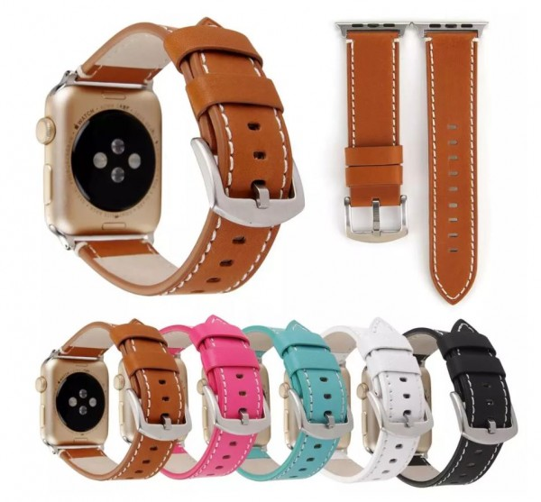 Vintage Leder Armband für Apple Watch Series 1/2/3/4/5 38/42mm 40/44mm