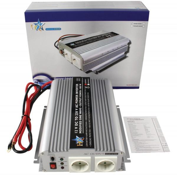 Wechselrichter 12 VDC - AC 230 V 300 W