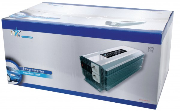 Wechselrichter 24 VDC - AC 230 V 2500 W