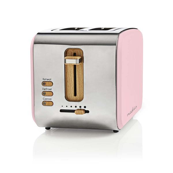 Design Retro Toaster Pink