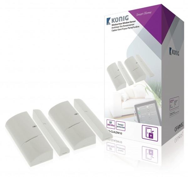 Smart Tür/Fenster-Sensor 868 Mhz Weiss