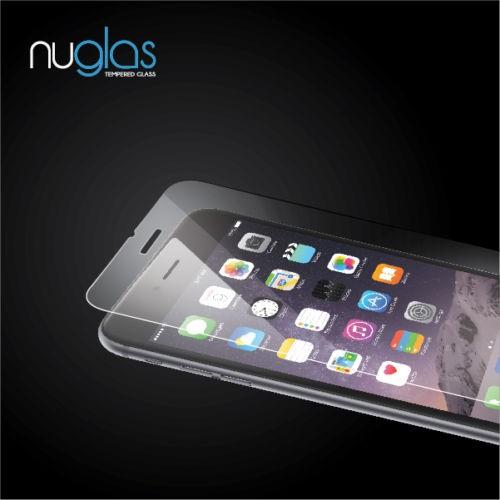 nuglas iPhone 6 plus, 6s plus Schutzglas Panzerfolie Schutzfolie 9H echt Glas