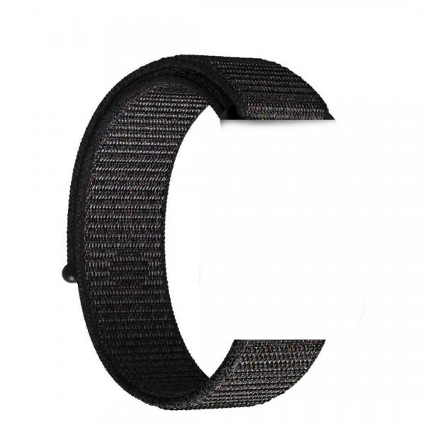Nylon Sport Armband kompatibel mit Uhren der Apple Watch Serie
