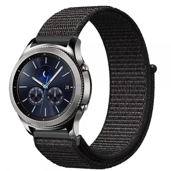 Samsung Gear S2 S3 Galaxy Watch 46mm Sport Loop Nylon Armband