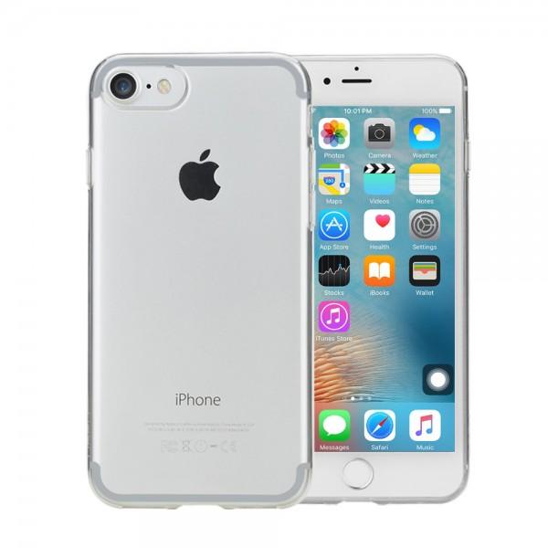 TPU iPhone 7 Premium Case Hülle aus Silicon durchsichtig