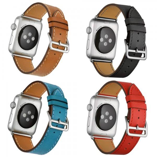 Premium Leder Armband für Apple Watch 1 2 3 4