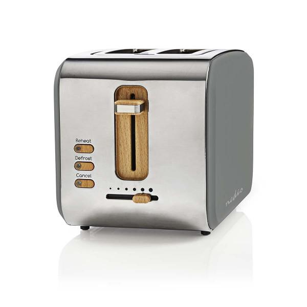 Design Retro Toaster Grau