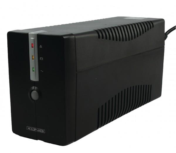 Unterbrechungsfreie Stromversorgung 650 VA 360 W