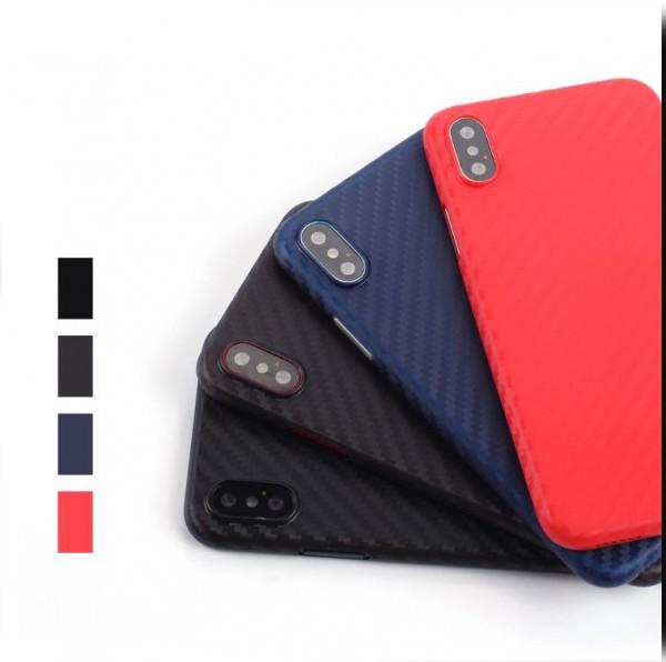 Ultraslim Carbon Hülle iPhone 7/8/SE/X/11/11Pro/ProMax