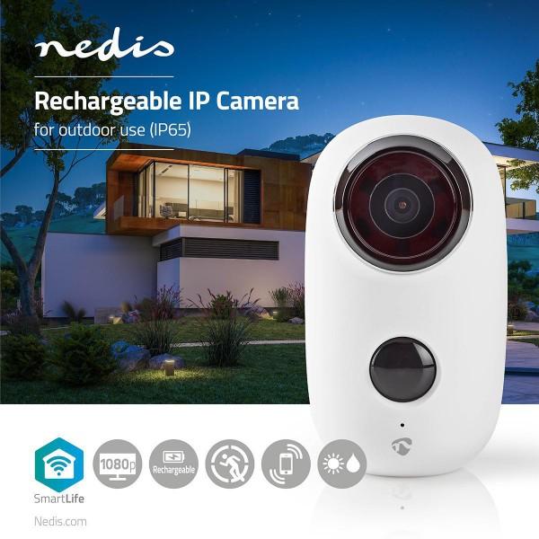 IP Kamera mit Akku für Außenbereich PIR-Bewegungssensor