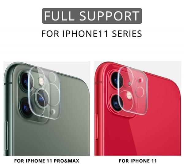 Kamera Schutzglas für iPhone 11 und iPhone 12 Serie