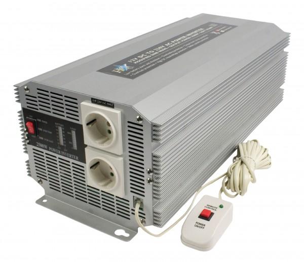 Wechselrichter 12 VDC - AC 230 V 2500 W
