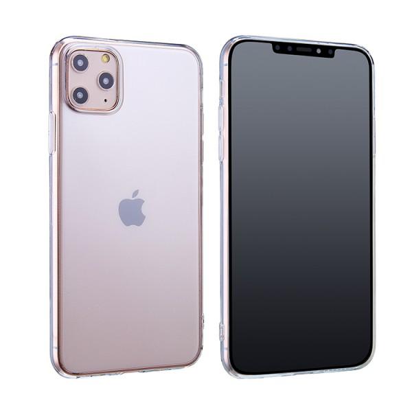 Ultraslim Silikon Clear Premium Schutzhülle für iPhone 11, iPhone 11 Pro