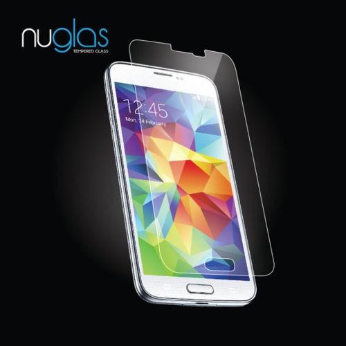 Nuglas Samsung Galaxy S5 Panzerglas Schutzfolie Schutzglas echt Glas nur 0,2mm
