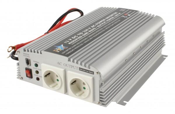 Wechselrichter 12 VDC - AC 230 V 1000 W