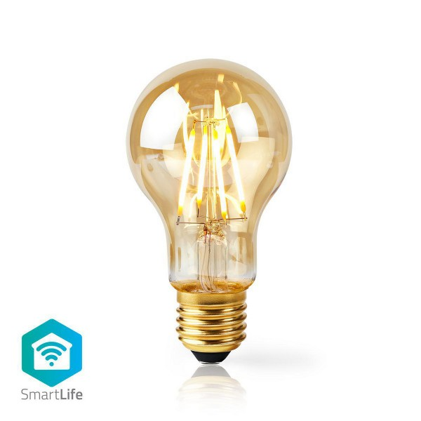 WLAN-Smart-LED-Filament-Lampe E27 A60 5 W 500 lm
