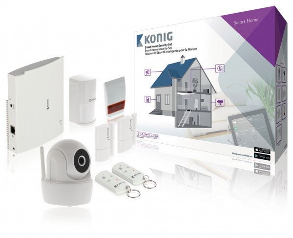 Smart Security-Kit Wi-Fi / 868 Mhz