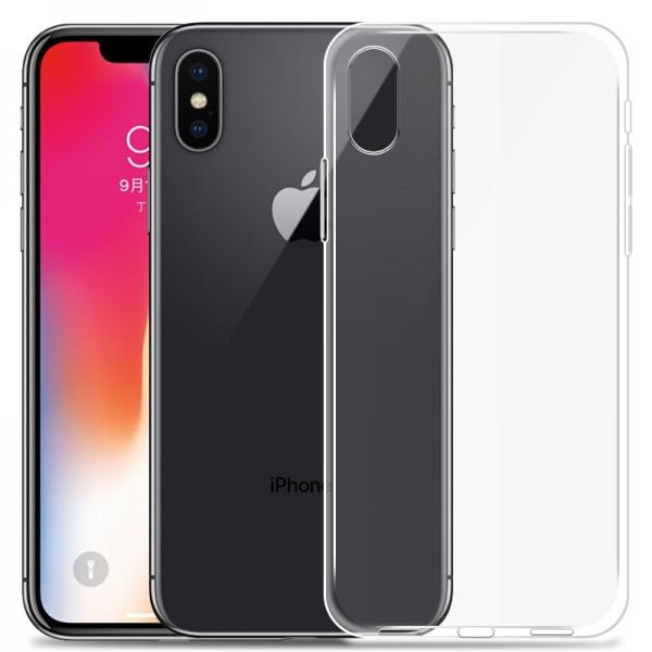 TPU Ultraslim Silikon Premium Schutzhülle für iPhone X